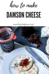 Edible gifting: How to make Damson Cheese on feedingboys.co.uk