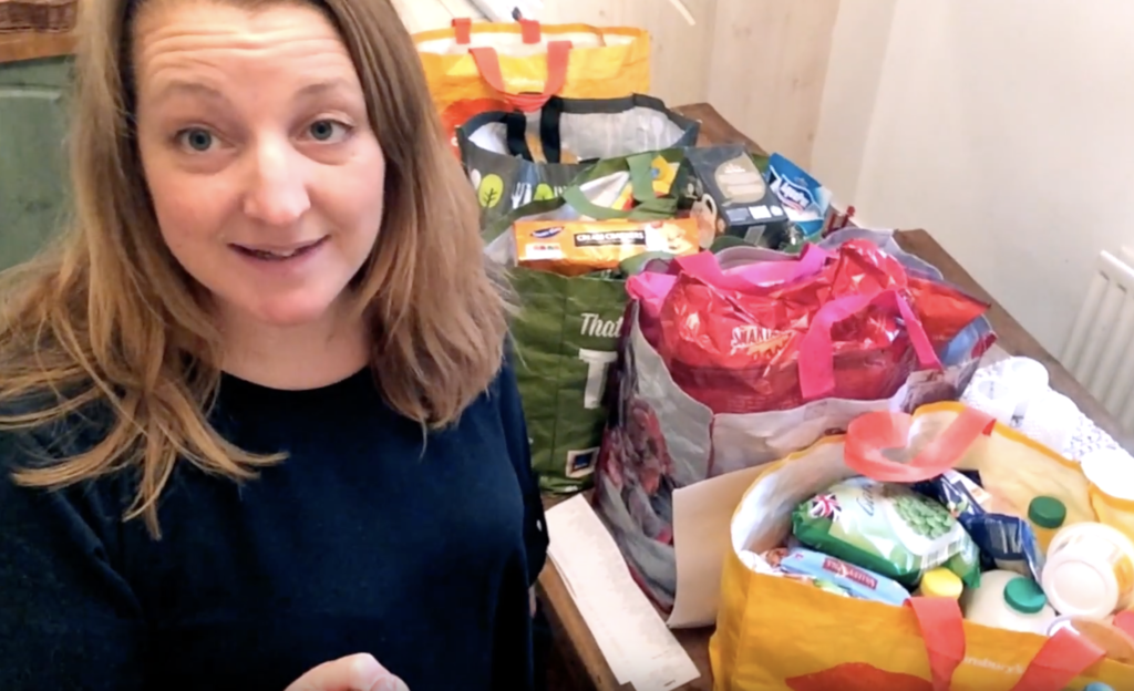 Katie Bryson from Feeding Boys in the Eating Fresh for Less Lidl challenge for Mumsnet