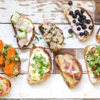 9 Tasty Toast Toppers