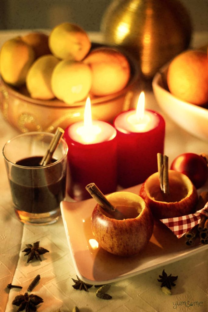How to make mulled wine and cider on Yumsome for Simple and in Season on feedingboys.co.uk