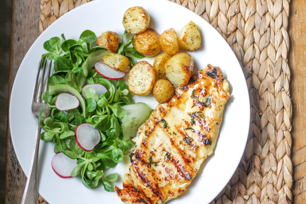 How to make super delicious Maple and Mustard Chicken on feedingboys.co.uk