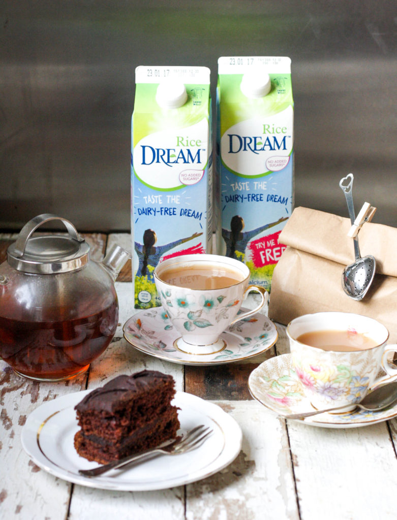 Review: Rice Dream and the perfect cup of tea on feedingboys.co.uk