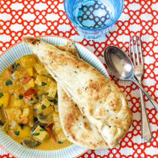 Veggie Curry with Mango and Coconut on feedingboys.co.uk