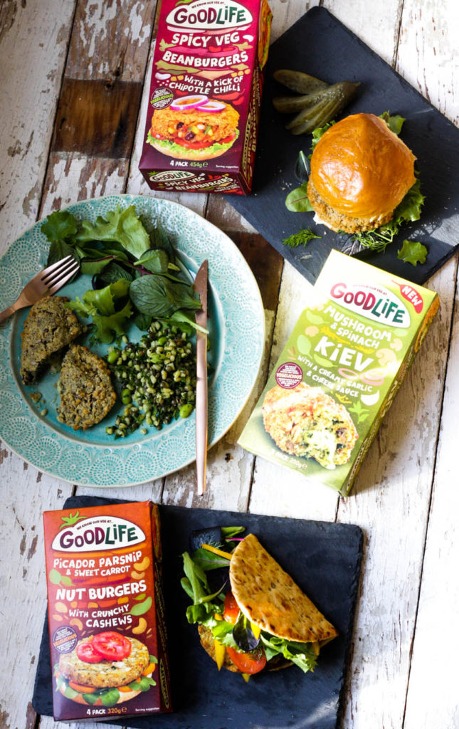 Review of Good Life Frozen Vegetarian range on feedingboys.co.uk