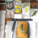 Gin, Rosemary and Lemon Drizzle Cake on feedingboys.co.uk