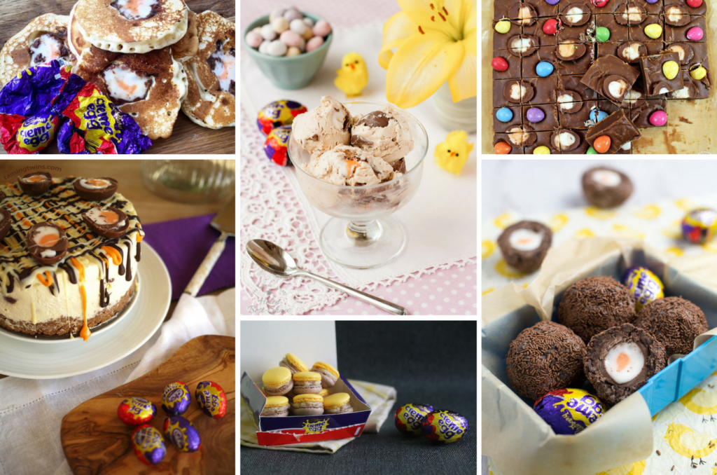 A round-up of Creme Egg recipes over on feedingboys.co.uk