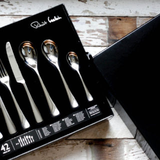 Robert Welch Malvern Cutlery Set from Amara.co.uk reviewed on feedingboys.co.uk
