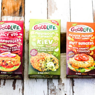 Goodlife Foods Frozen Vegetarian Range
