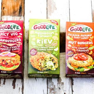 Review of Good Life Frozen Vegetarian range on feedingboys.co.uk