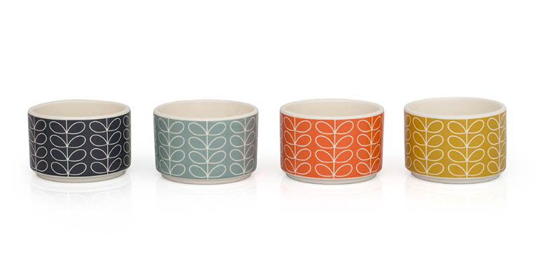 Orla Kiely Ramekin dishes on amara.co.uk