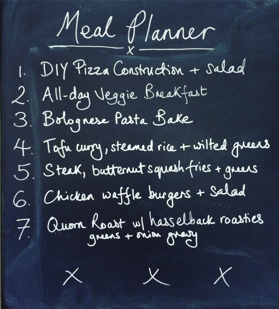 The Feeding Boys Meal Planner