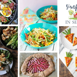 Simple and in Season: April's Round-Up and May's Shout-Out
