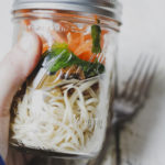 Pulled Pork Noodle Jars on feedingboys.co.uk