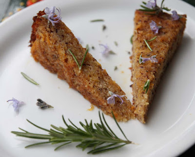 Vegan Hazelnut Swede Lemon Drenched Cake from Allotment 2 Kitchen for Simple and in Season on feedingboys.co.uk