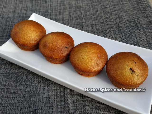 Orange and dried berry cup cakes from Herbs Spices and Tradition for Simple and in Season on feedingboys.co.uk