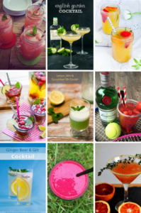 Summer cocktail ideas from UK's top food bloggers on feedingboys.co.uk