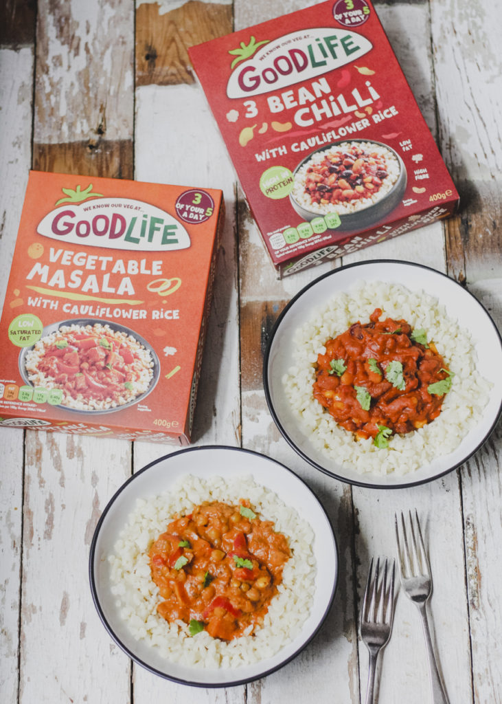 Review of Good Life Frozen Ready Meals on feedingboys.co.uk