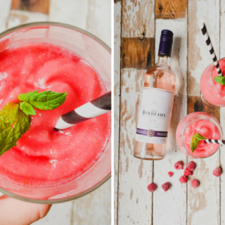 How to make raspberry and mint frosé on feedingboys.co.uk