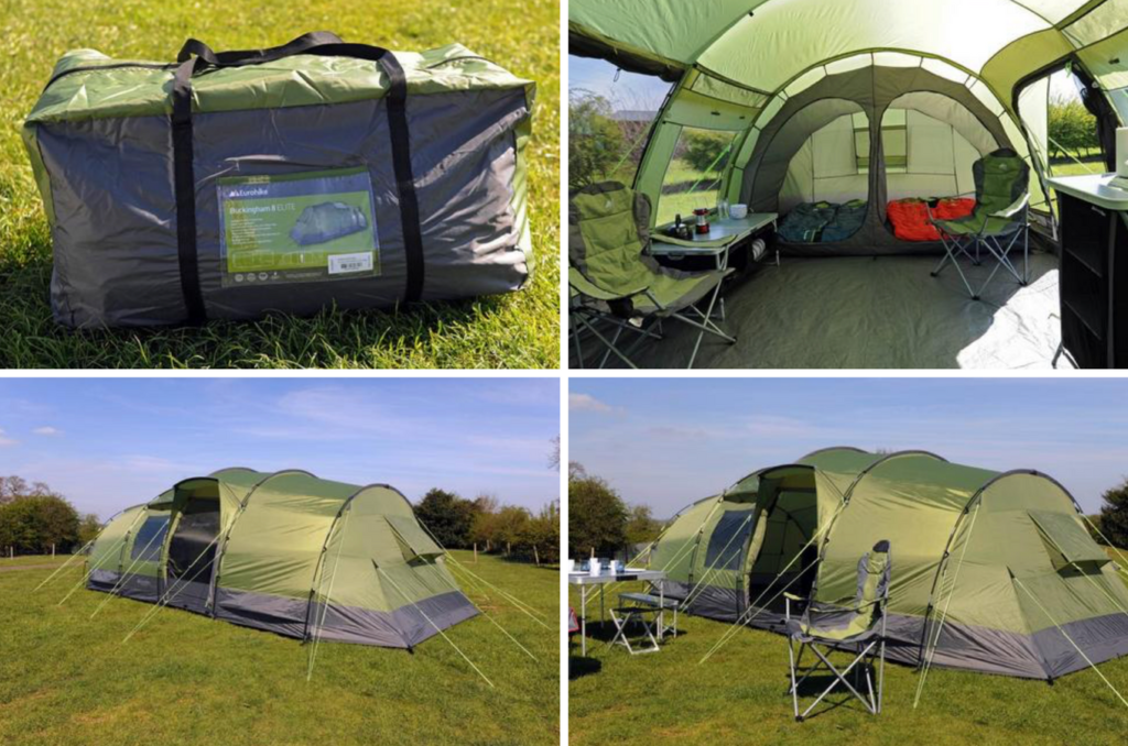 Buckingham Elilte tent from Millets
