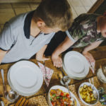 Easy Tray Bake Supper and Top Tips for preventing Dinner Time Dramas