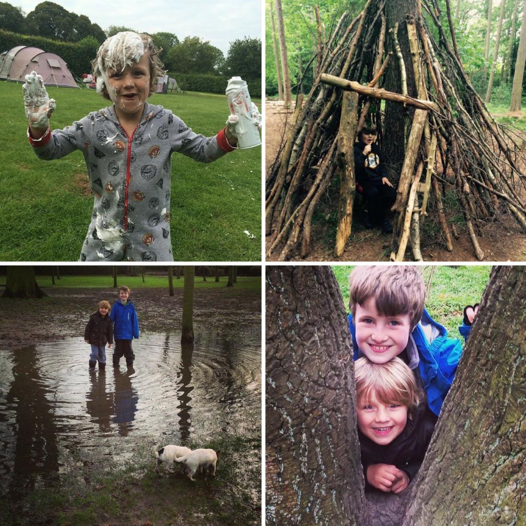 Feeding Boys tips for outdoor fun
