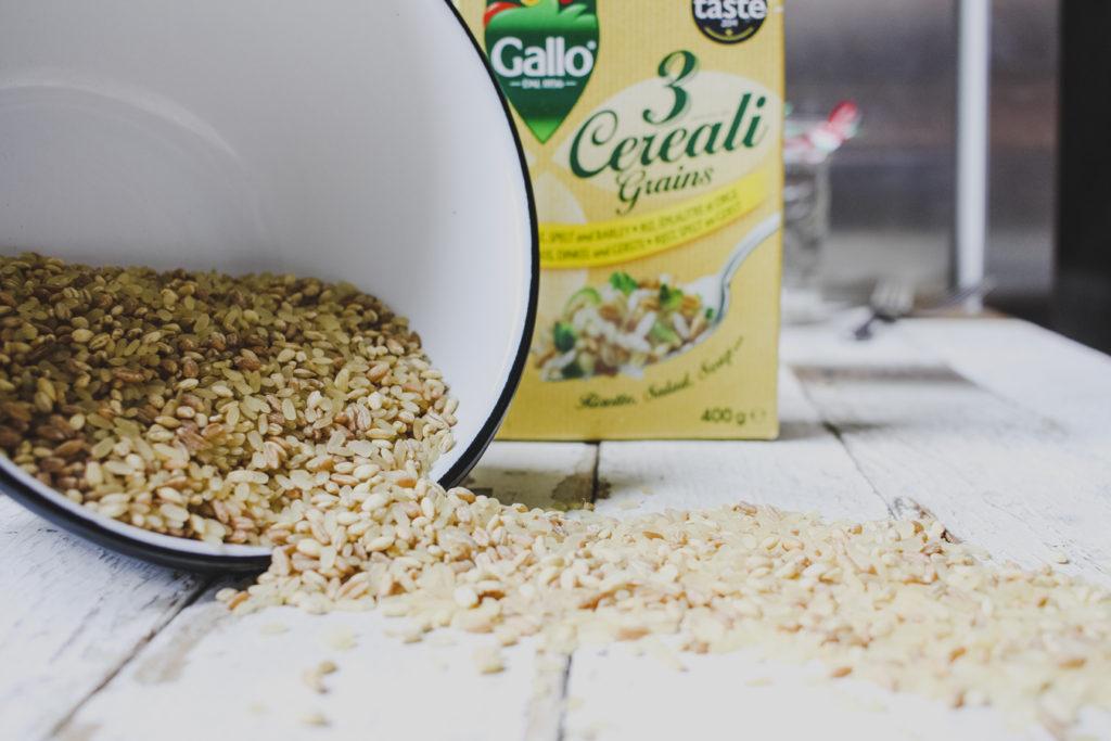 Riso Gallo 3 Grain Risotto Rice on feedingboys.co.uk