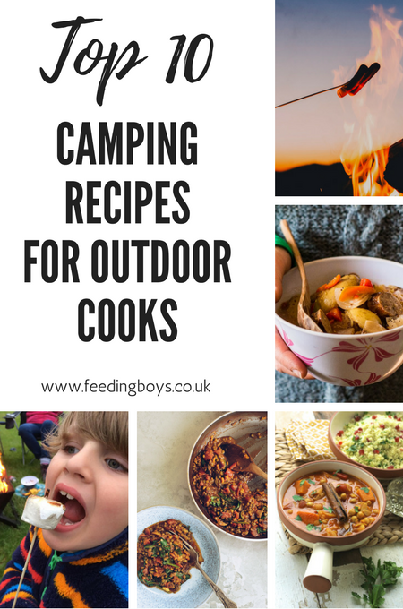 top 10 camping recipes for outdoor cooks on feedingboys.co.uk