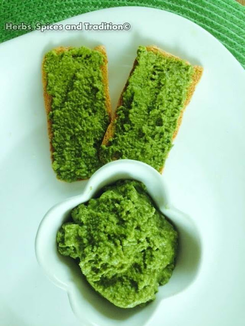 Coriander Chutney from Herbs Spices and Tradition for Simple and in Season on feedingboys.co.uk