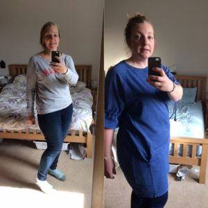 The Slimming World effect on food blogger Katie Bryson from April - September 2017