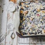 blueberry crumble squares from Wild Honey and Rye by Ren Behan on feedingboys.co.uk