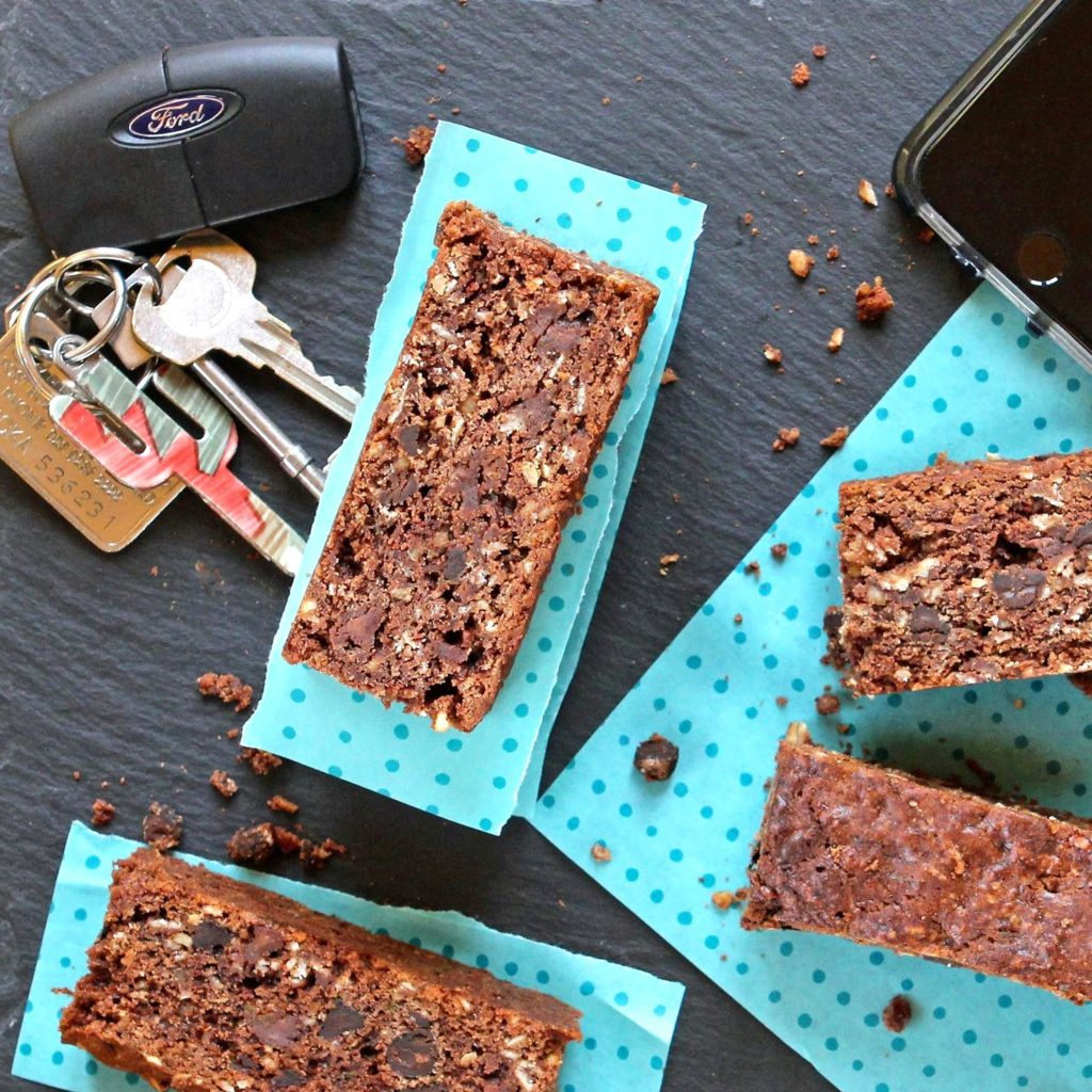 Cacao Courgette Breakfast Cake from Gluten Free Alchemist for Simple and in Season on feedingboys.co.uk