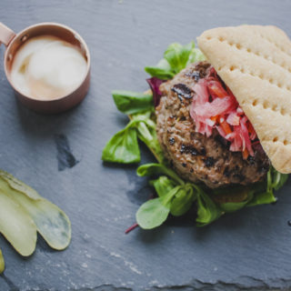 Caramelised Onion Burgers – Slimming World Friendly