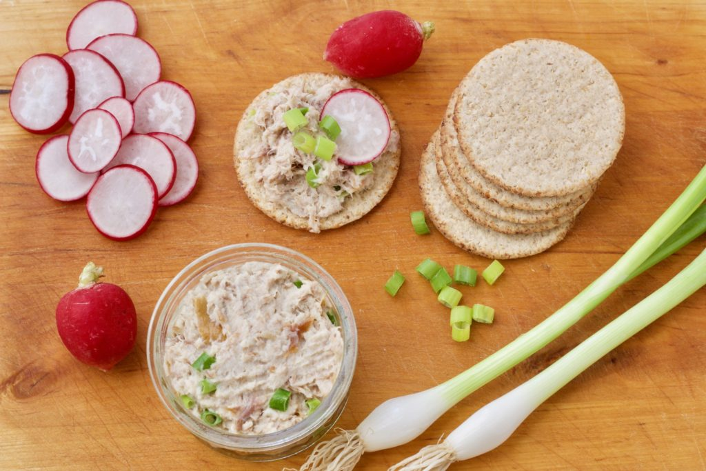 Smoked Mackerel and Horseradish Patê from Jo's Kitchen Larder for Simple and in Season on feedingboys.co.uk