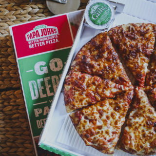 Papa John's new 'Papa's Deep Crust' pizza range