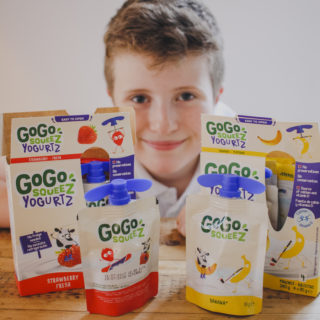 Review of GoGo SqueeZ fruit snacks and yogurtz on feedingboys.co.uk
