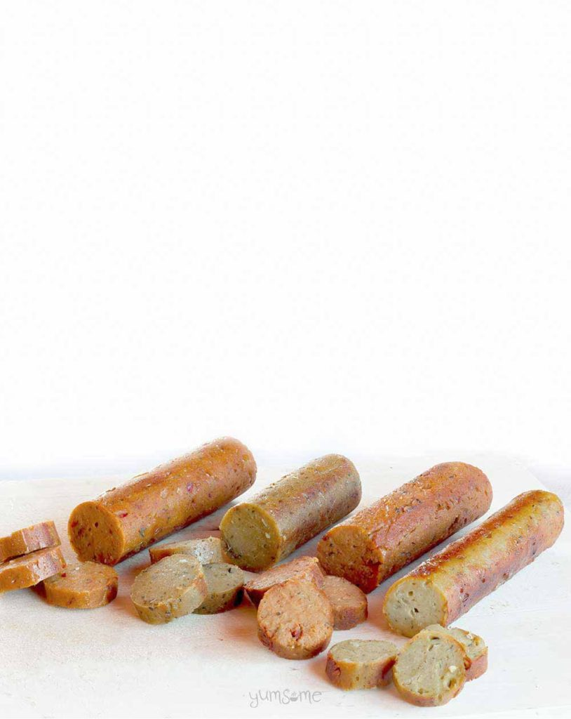 The Word's Best Vegan Sausages from Yumsome for Simple and in Season on feedingboys.co.uk