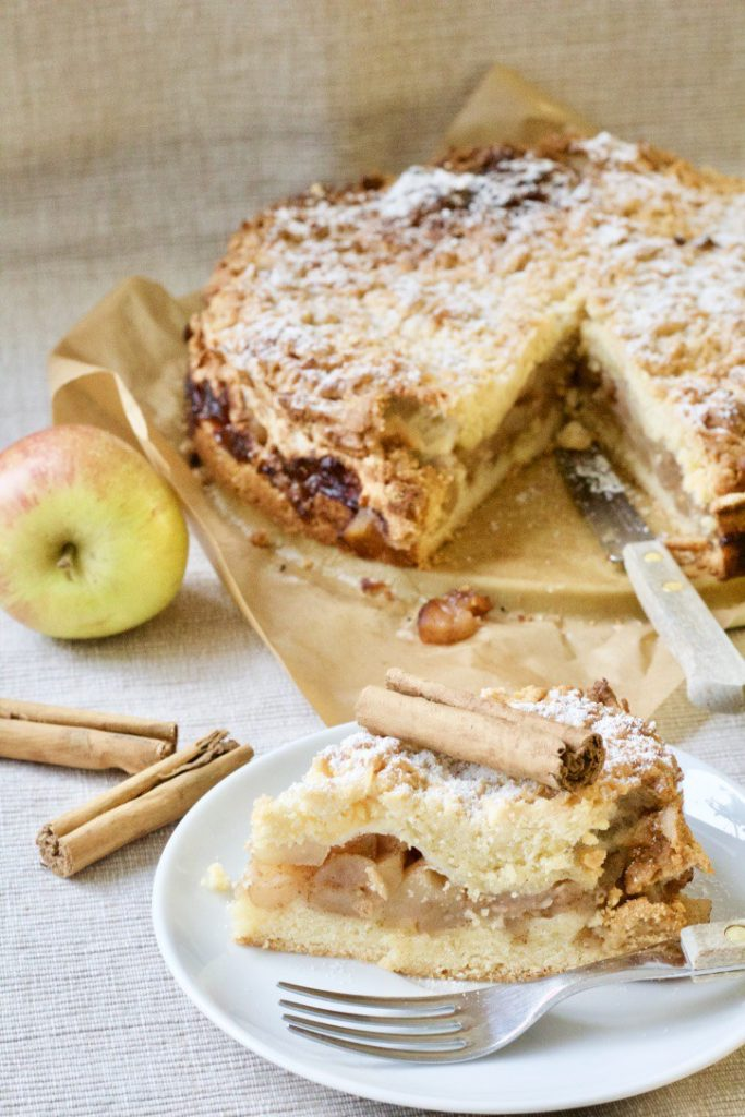 Best buttery apple pie from Jo's Kitchen Larder for Simple and in Season on feedingboys.co.uk