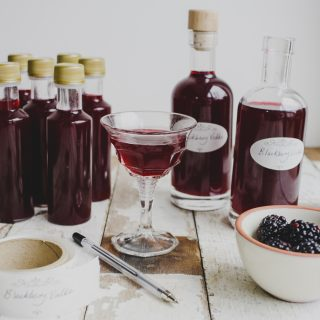 Home-made Christmas gifting: Blackberry Vodka