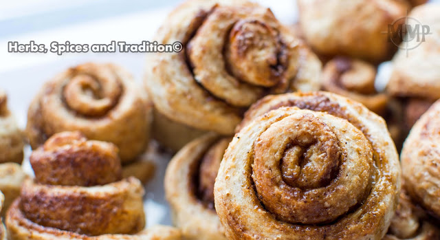 Cinnamon Rolls from Herbs, Spices and Tradition for Simple and in Season on feedingboys.co.uk