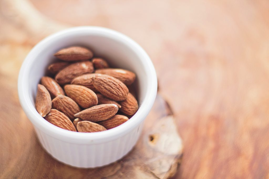 Almonds: Photo by Juan José Valencia Antía on Unsplash