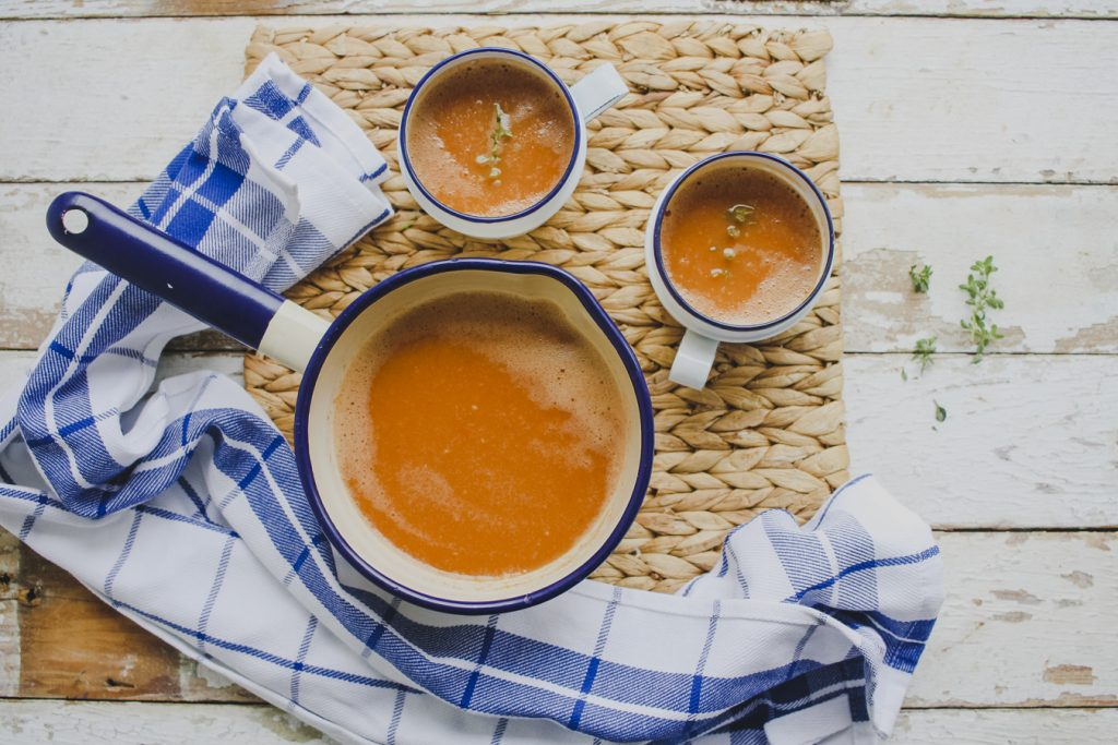 Slimming World Friendly Soup: Roasted Tomato and Thyme