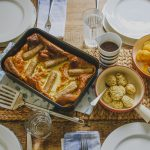 Vegetarian Toad in the Hole on feedingboys.co.uk