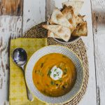 Slimming World Lunch idea: Aromatic Carrot and Blackbean soup on feedingboys.co.uk