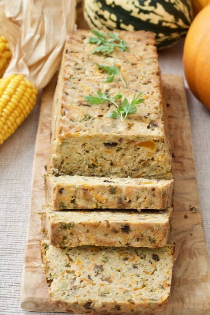 Celeriac Veggie Loaf from Jo's Kitchen Larder for Simple and in Season on feedingboys.co.uk