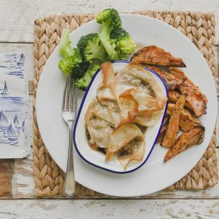 Slimming World Friendly Steak Pie on feedingboys.co.uk