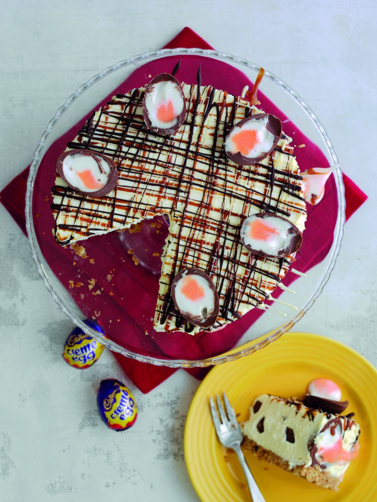 Creme Egg Cheesecake: Creme Egg Dessert Ideas on feedingboys.co.uk