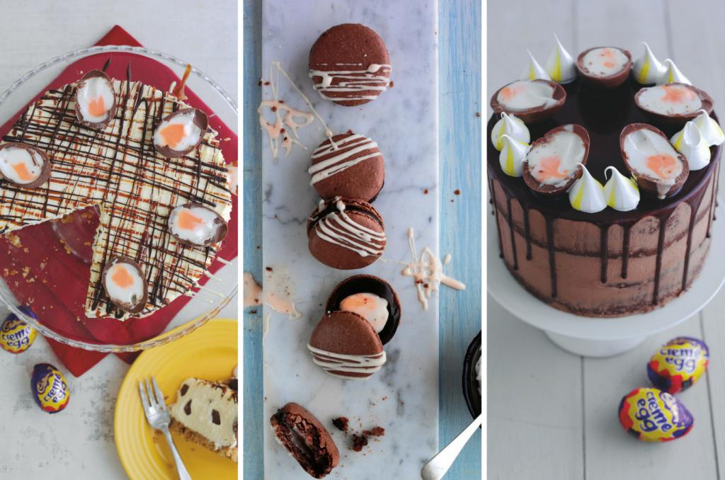 Creme Egg Dessert Ideas on feedingboys.co.uk