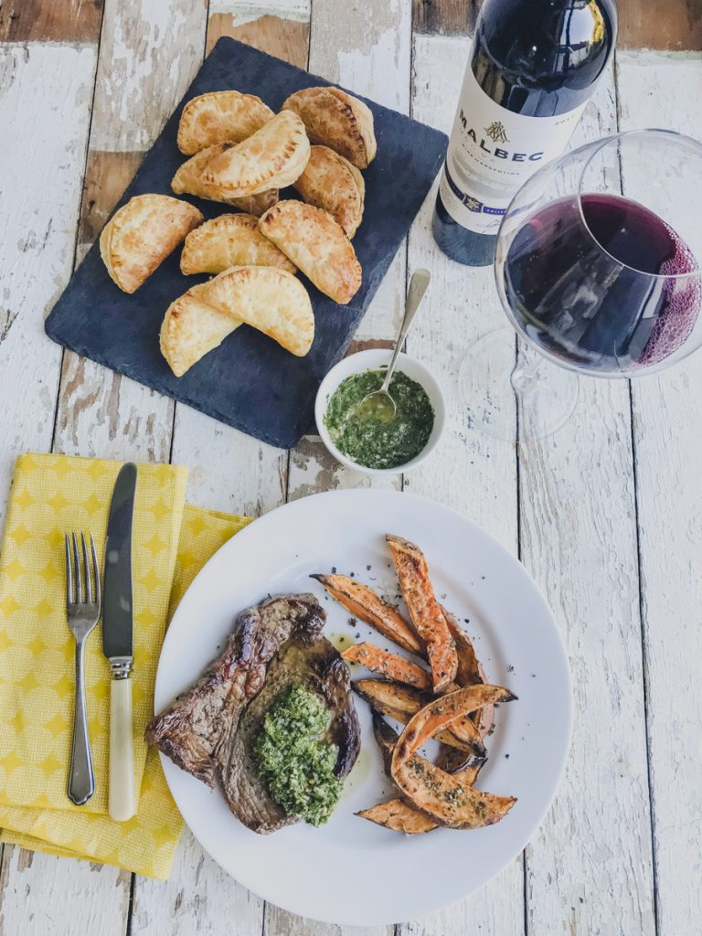 Aldi World Cup Feast: Easy Empanada Puffs & Griddled Steak with Chimichurri on feedingboys.co.uk