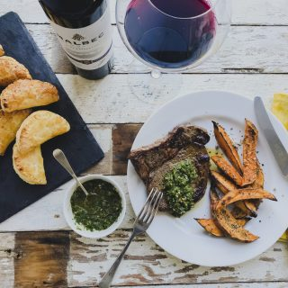 Aldi World Cup Feast: Easy Empanada Puffs & Griddled Steak with Chimichurri