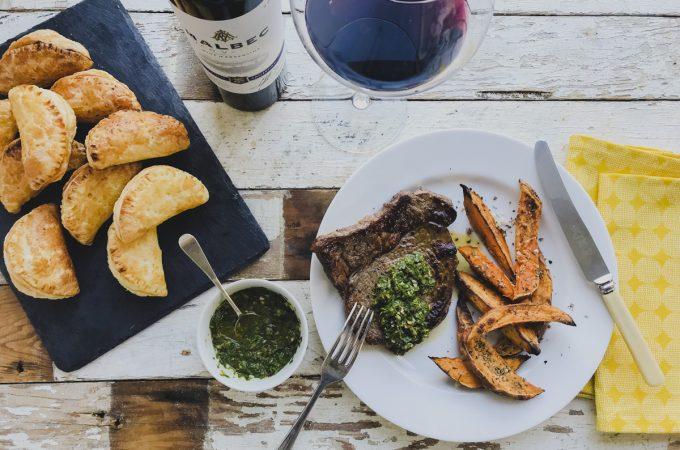 Aldi World Cup Feast: Easy Empanada Puffs & Griddled Steak with Chimichurri on feedingboys.co.uk